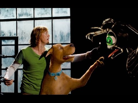Red & Green Eye Skeleton Chases Scooby-Doo - YouTube