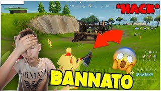 USE THE HACK and VENGO BANNATO on FORTNITE!😭 TROLL to a YOUTUBER!😂