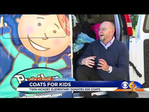 October 19, 2018_ Coats For Kids Kickoff @ Twin Hickory Elementary School