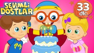 Doğum Günü Şarkısı 🎈 İyi ki Doğdun | Sevimli Dostlar Bebek Şarkıları |  Adisebaba TV Kids Songs
