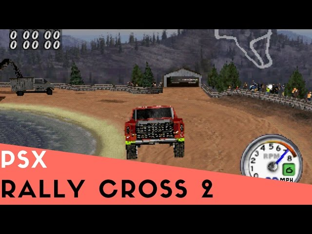 PSX Longplay #29: Rally Cross 2