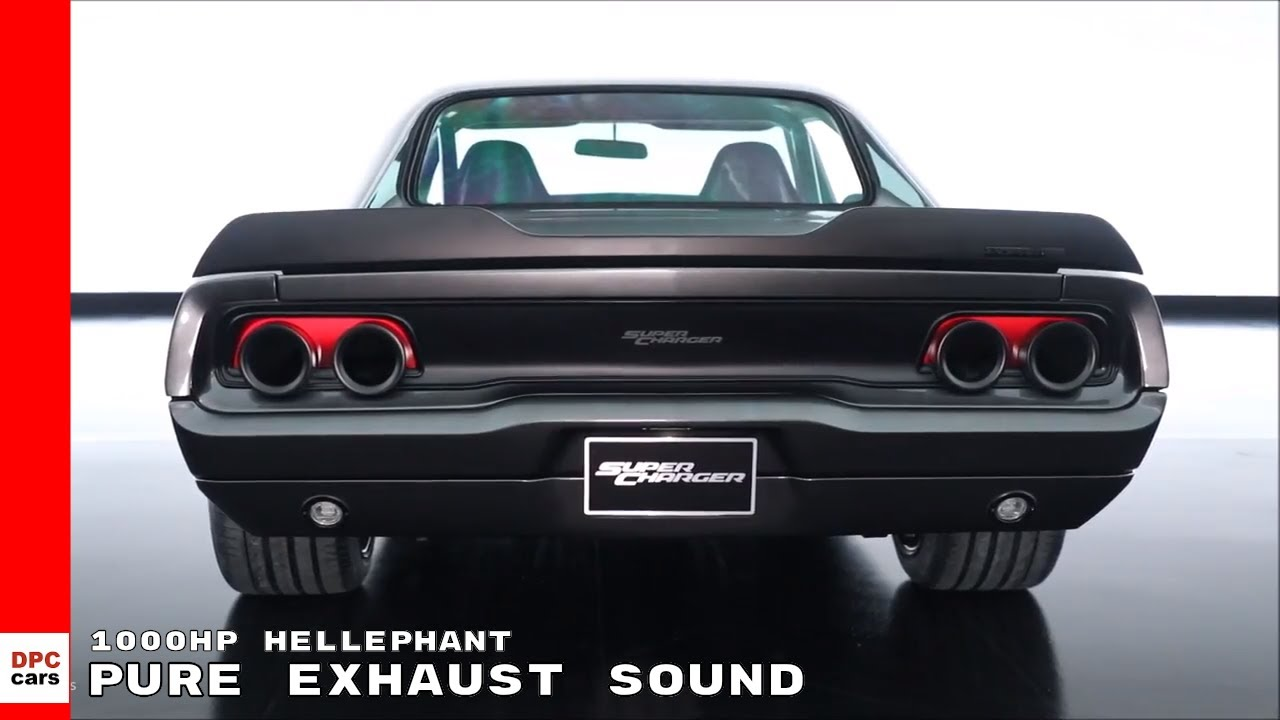 Pure Exhaust Sound Of Hellephant 426 Supercharged Mopar Crate Hemi