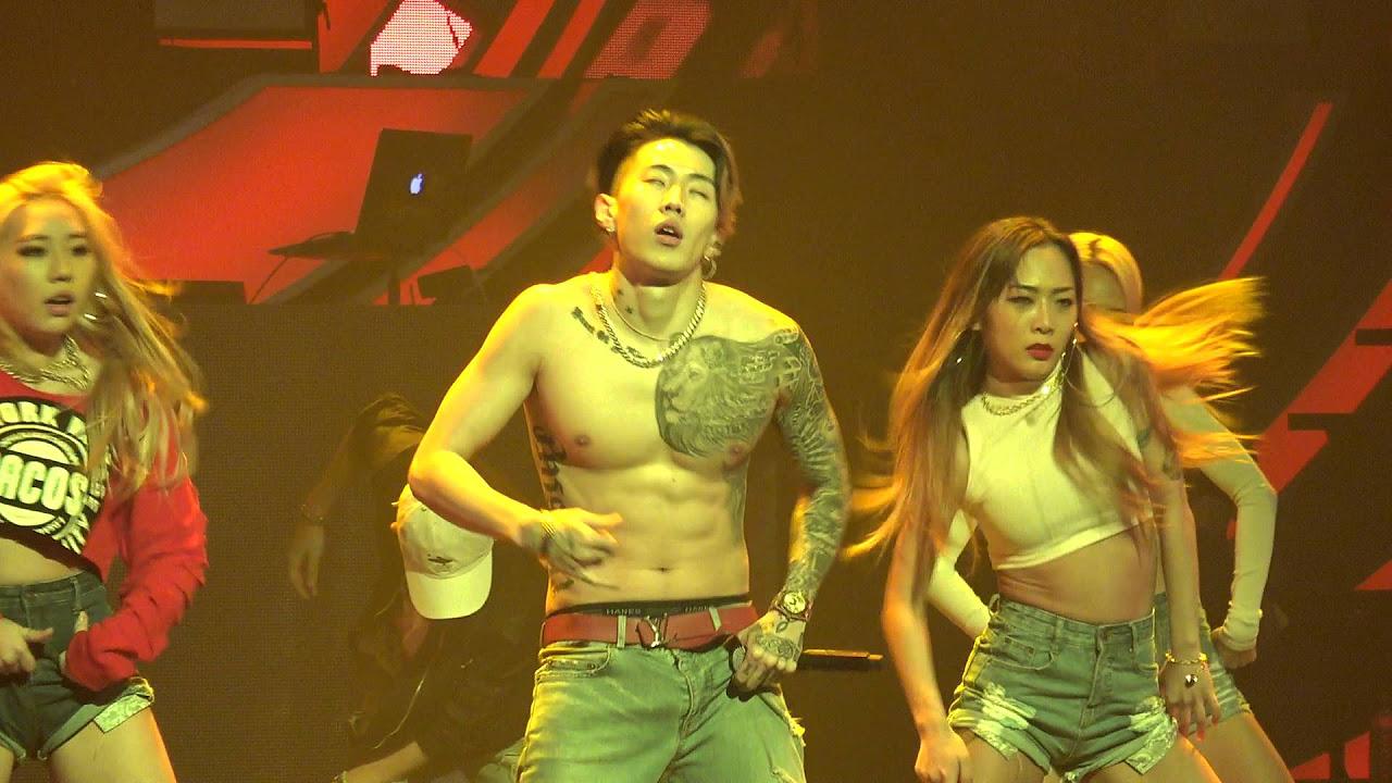 160213 박재범 Jay Park - 뻔하잖아(U KNOW) & 몸매 Mommae & Dance Break (AOMG Concert)
