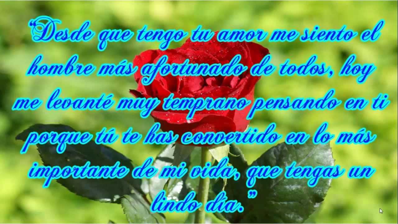 Amorosas Frases De Buenos Dias Para Mi Novia Feliz dia del Amor y la Amistad Frases Bonitas