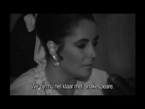 Elizabeth Taylor & Richard Burton interview 1966