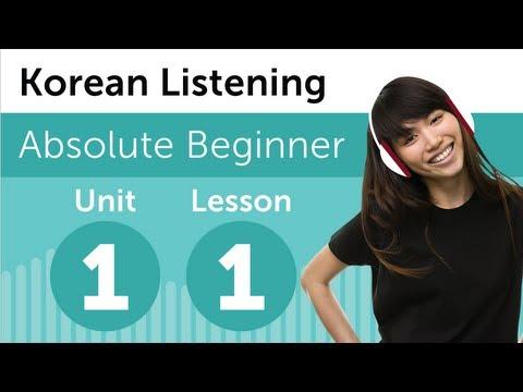 Luyện nghe tiếng Hàn Topik 1- Bài 1: Tại nhà sách
