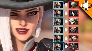 How to Get POTG as Ashe! Overwatch Funny & Epic Moments