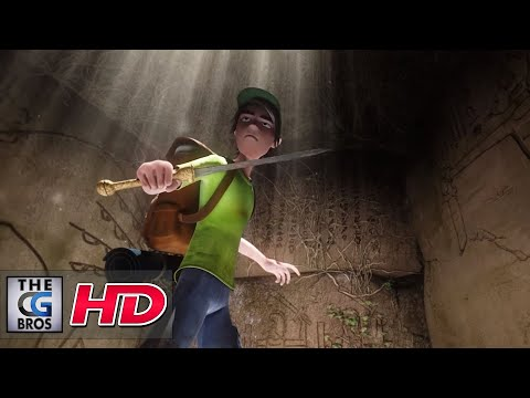 "CGI 3D Animated Short Film : ""Ruins"" - by Daniel Ueno"