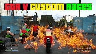 GTA V Custom Races: Bikers Dream 2