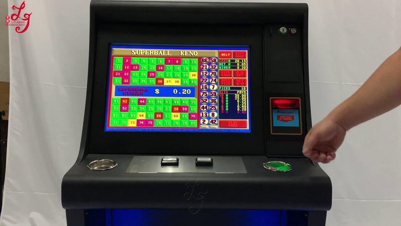Pot Of Gold Video Poker Machine