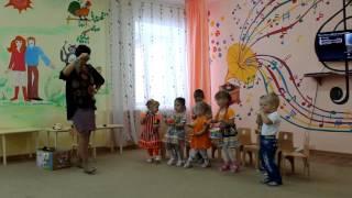 Открытое занятие по развитию речи  НОД «Веселые игрушки»