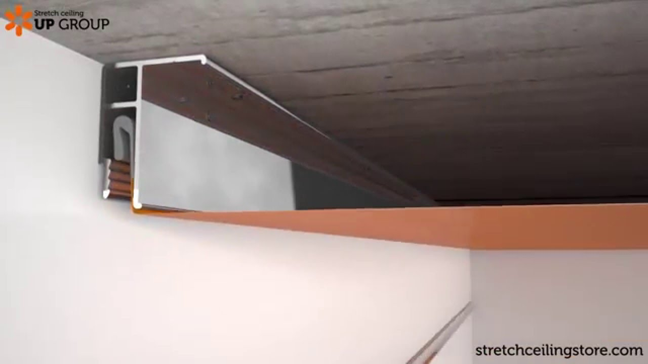 How to install stretch ceilings 3