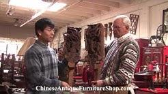 Chinese Antique Furniture Video #5 Symbols - Immortals and Phoenix