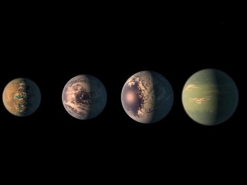 NASA discovers seven Earth-sized planets - YouTube
