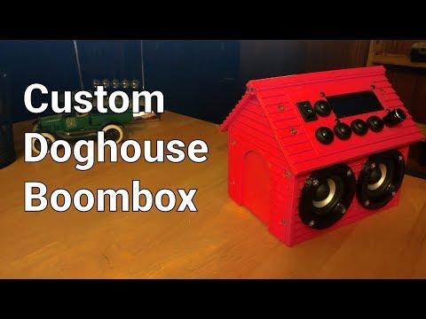 DIY Custom Dog House Boombox
