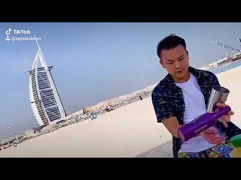 Tiktok Viral Let's Twist Again | Burj Al Arab Dubai | Flair Bartender | MONIN GOT TALENT
