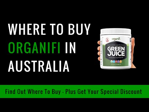 Where To Buy Organifi in Australia - $20 Discount Coupon Promo Code