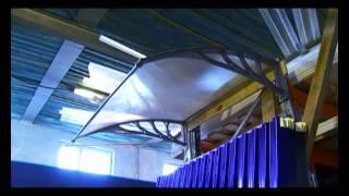 Профилированный монолитный поликарбонат ВеКо-Пласт(Профилированный (гофрированный) поликарбонат, светопрозрачная кровля, монолитный поликарбонат, теплицы,..., 2012-06-09T05:04:58.000Z)