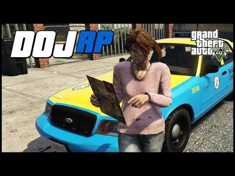 GTA V  DOJ - Episode 27 - Communist Taxi (Crazy Taxi II)