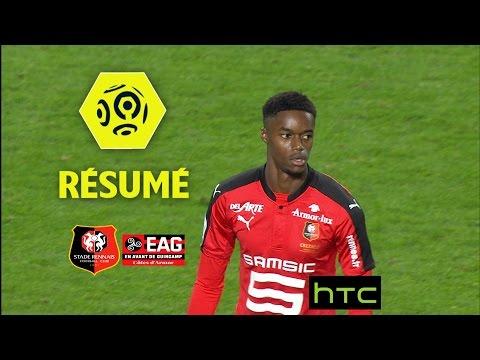 Stade Rennais FC - EA Guingamp (1-0)  - Résumé - (SRFC - EAG) / 2016-17