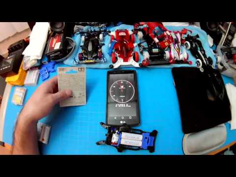 Tamiya Hyper-Dash 3 Motor RPM Test Mini 4wd