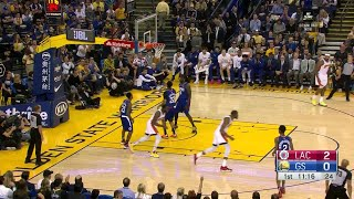 1st Quarter, One Box Video: Golden State Warriors vs. LA Clippers