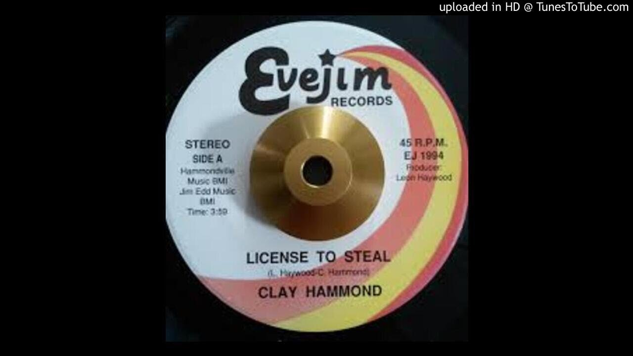 Download CLAY HAMMOND - LICENSE TO STEAL