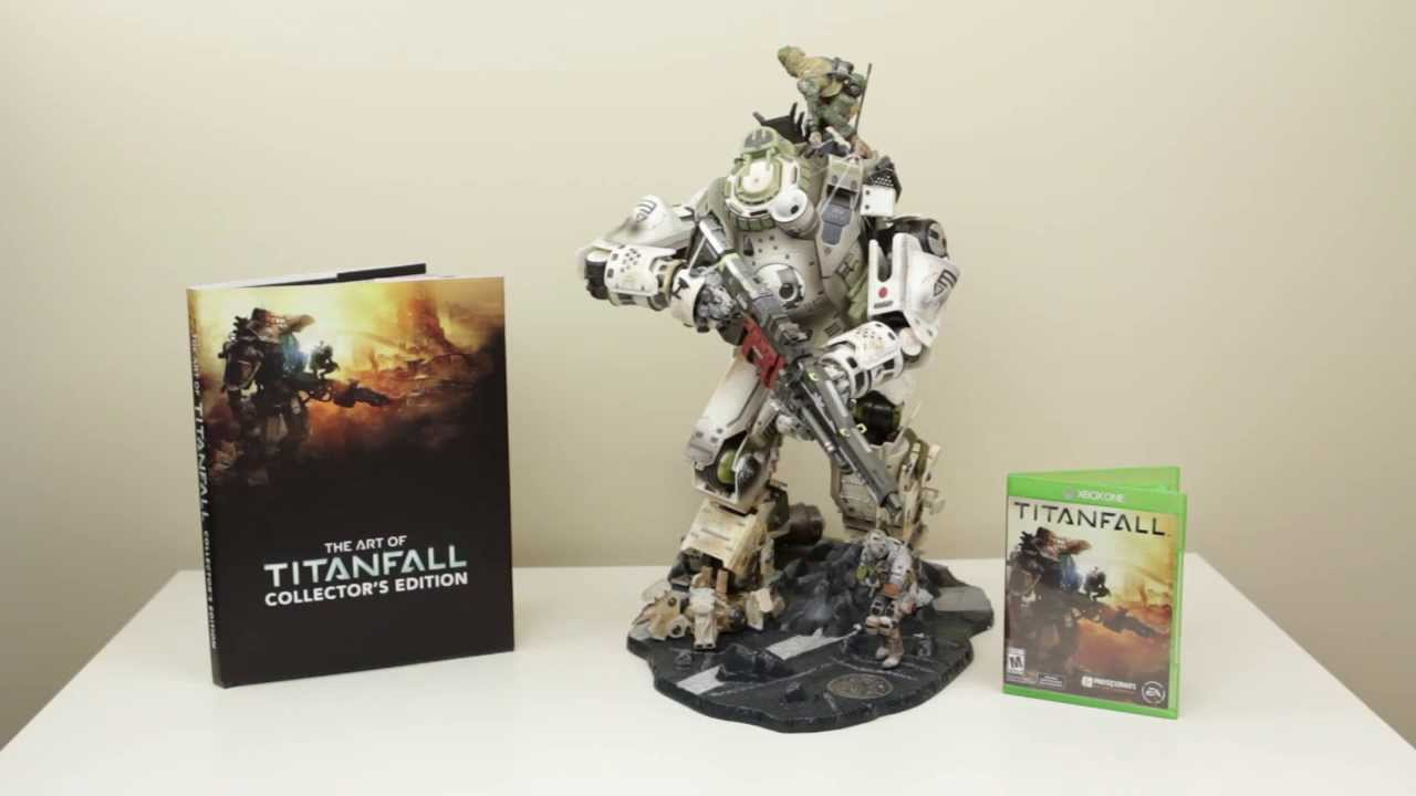 Unboxing: Titanfall Collectors Edition Unboxing Xbox One ...