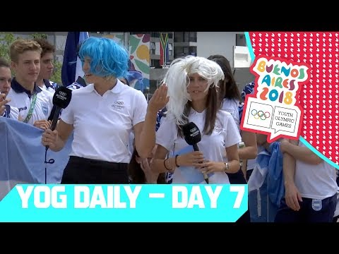Team Argentina Shows How to get the Party Started!  | YOG Daily Show | Day 7 | YOG Buenos Aires 2018