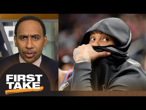 Do you believe Carmelo Anthony? Stephen A. Smith says 'hell no'   First Take   ESPN