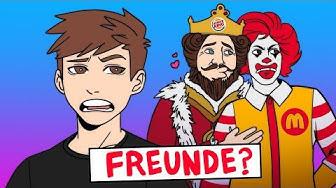 WAS?! - McDonald's & Burger King Werbung