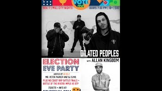 Go Vote Mn Pre Election Pre Party Featuring Dilated People, Allan Kingdom and more