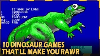 10 DINOSAUR GAMES THAT WILL MAKE YOU RAWR