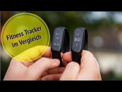 Amazfit Band 5 vs Mi Band 5 | Fitness Tracker Vergleich | Test (deutsch)