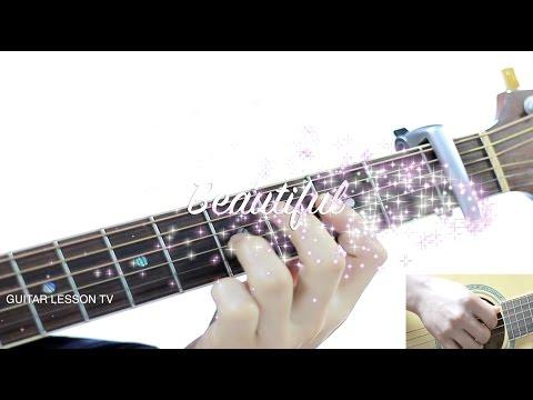 Beautiful - Crush [도깨비/Goblin OST Part 4] Guitar Cover [GUITAR LESSON TV] 크러쉬 뷰티풀 기타코드