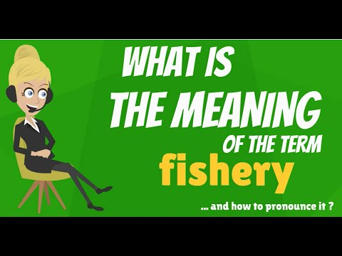 What is FISHERY? What does FISHERY mean? FISHERY meaning, definition & explanation