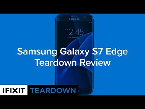 Samsung Galaxy S7 Edge Teardown Review!