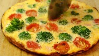 How to make easy open omelette