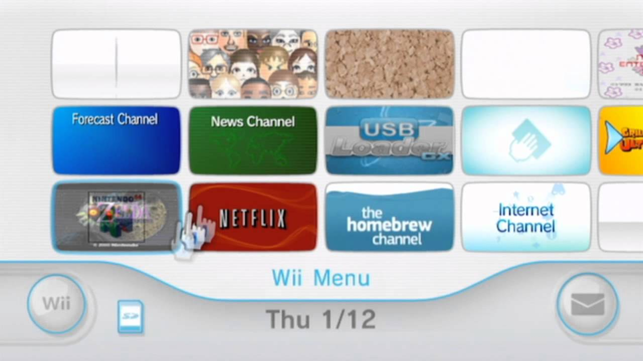 How to Jailbreak Your Wii and Run Games from a HDD - YouTube
