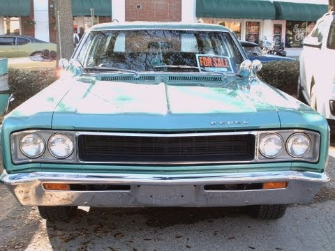1968 AMC Rebel Cross Country GrnWht NSmrn021112