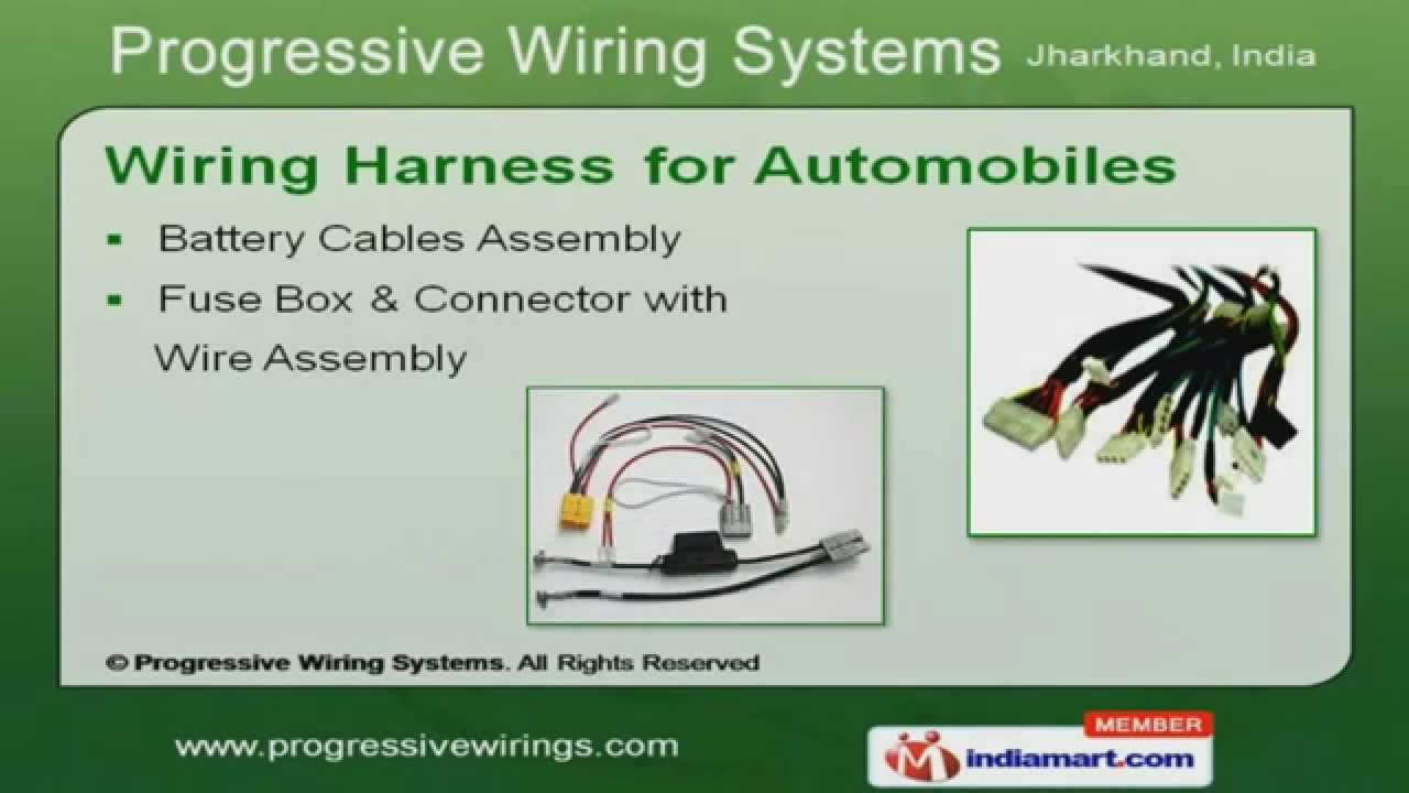 Wiring Harness For Automobiles By Progressive Systems A India Jamshedpur
