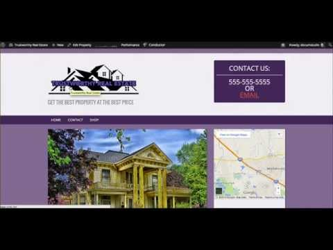 Where is the best place to have a real estate website created?