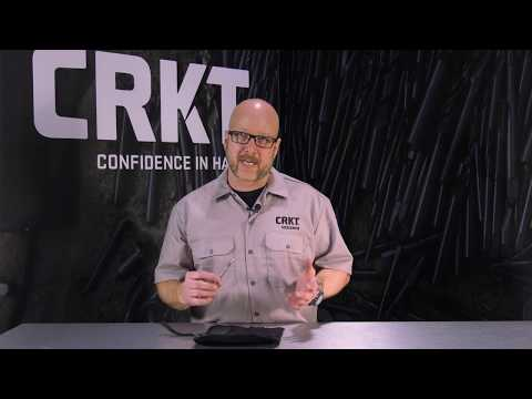 CRKT Black Fork Hunting Knife Set | Designer Vision From Tom Krein
