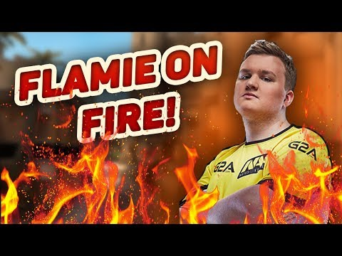 Flamie on Fire! New Record! | E-LEAGUE BOSTON | [NaVi vs. QBF]