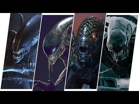 Alien Evolution in Movies (Xenomorph)