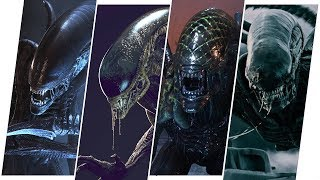 Alien Evolution in Movies (Xenomorph)