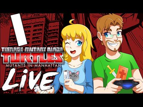 TMNT Mutants in Manhattan LIVE Playthrough Part 1 Feat. Kwife & Kwing