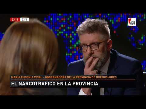 LNE   LUIS NOVARESIO ENTREVISTA - MARÍA EUGENIA VIDAL