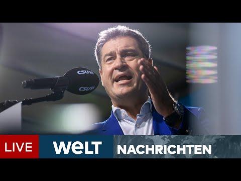 LASCHET SCHÖPFT HOFFNUNG: Wahlkampf 2021 - Union zieht in Umfrage leicht an | WELT Newsstream