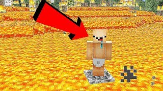 ALLES IN MINECRAFT IS LAVA! (THE FLOOR IS LAVA)